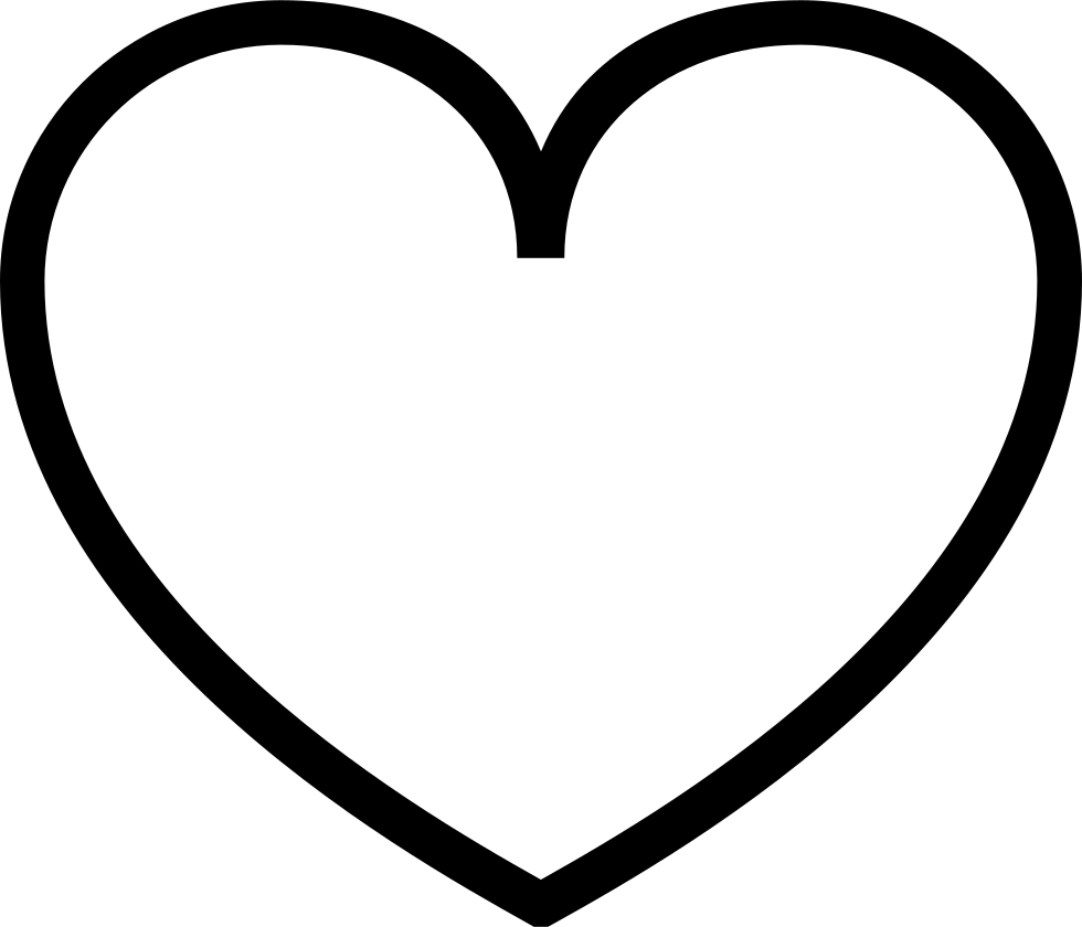 Peach clipart svg. Heart empty png icon