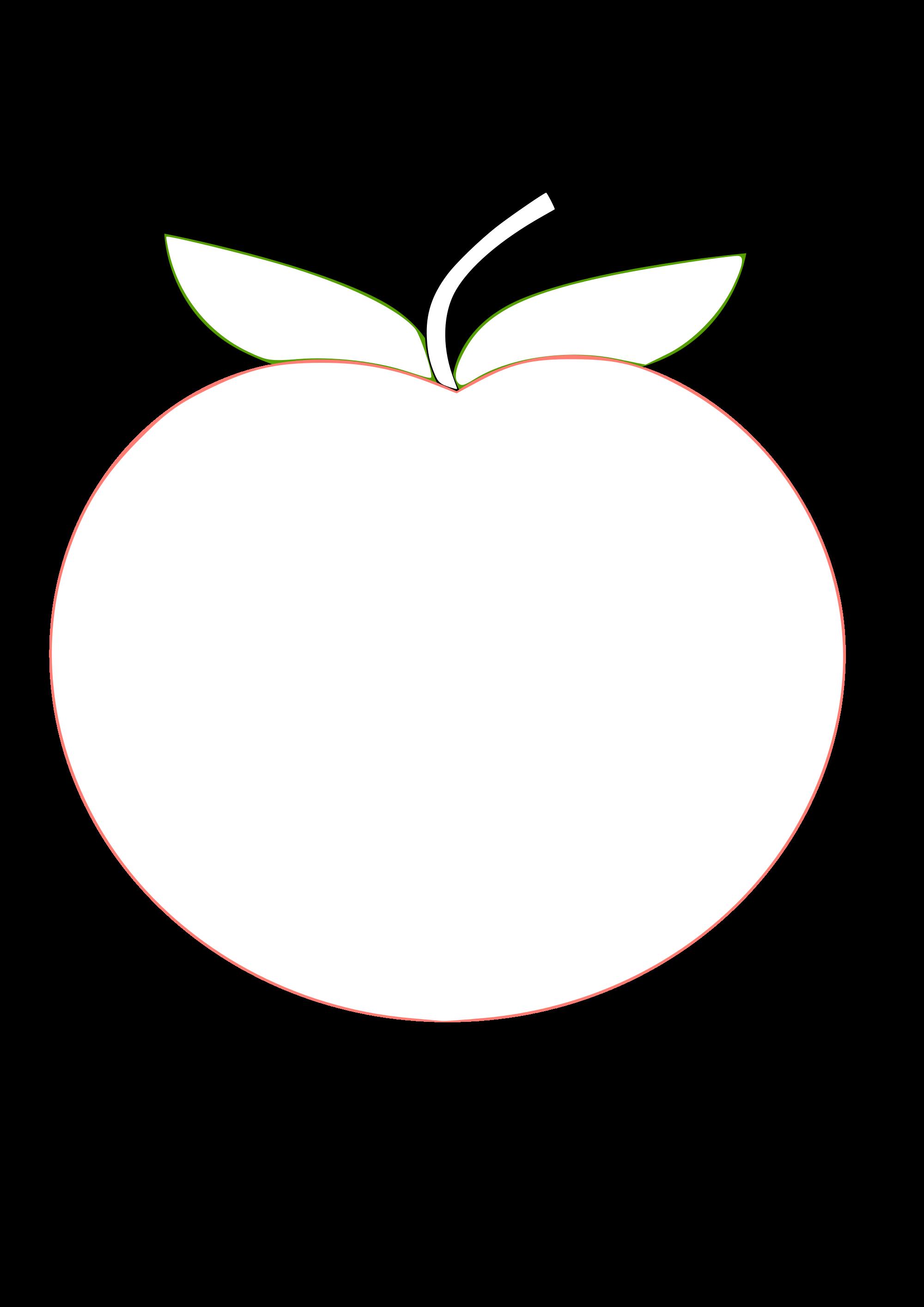 File tux paint color. Peach clipart svg
