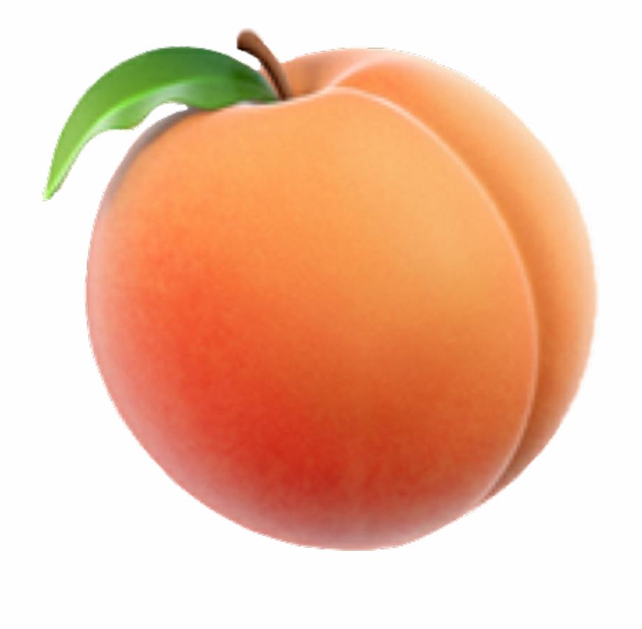 peach clipart transparent background peach
