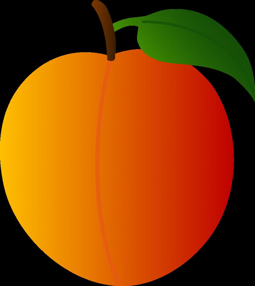 Peach clipart vintage peach. Free jokingart com