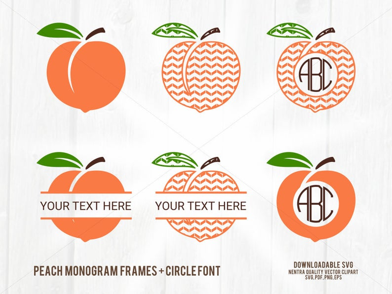 off sale monogram. Peach clipart svg