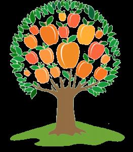 Genes michigan sponsors . Peaches clipart peach tree