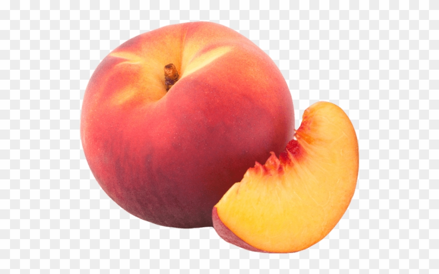 Peach clipart transparent background peach. Caramelised potato salad recipe