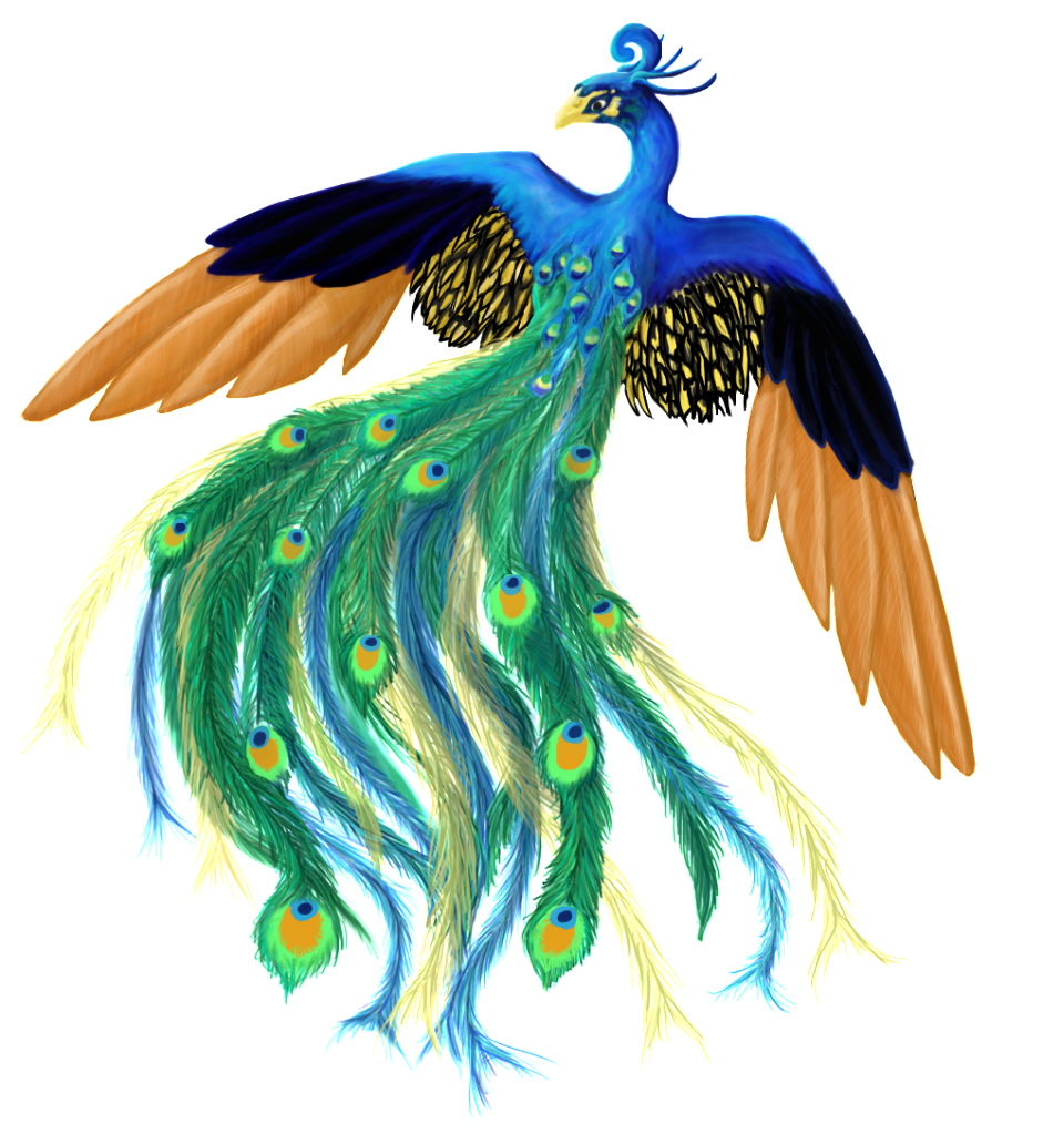 peacock clipart angry