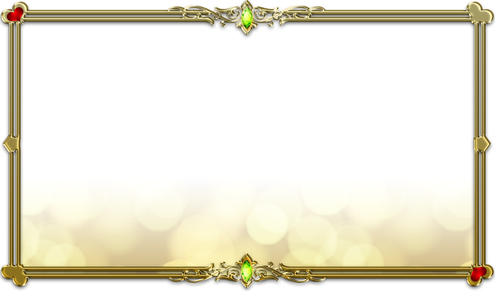 Frame design png. Gold transparent pictures free