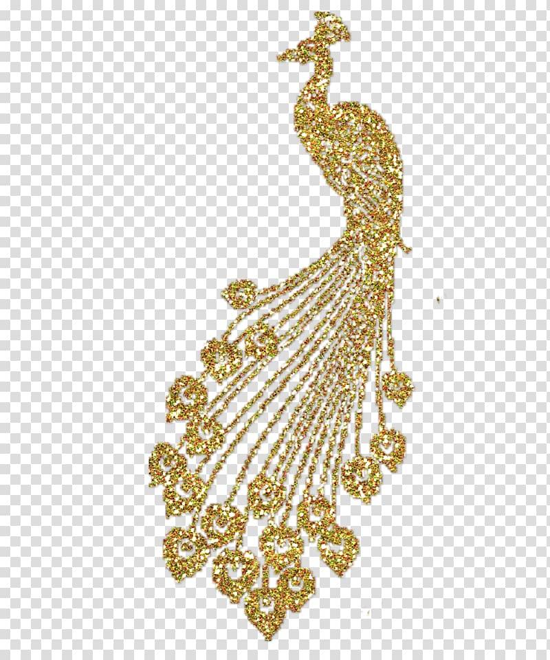 Peacock clipart gold peacock. Peafowl the golden