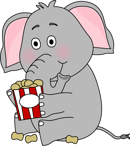 Clip art image elephant. Peanuts clipart eating