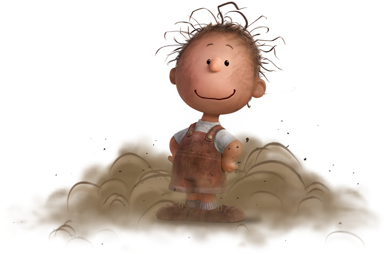 Happily traveling in his. Peanuts clipart sally
