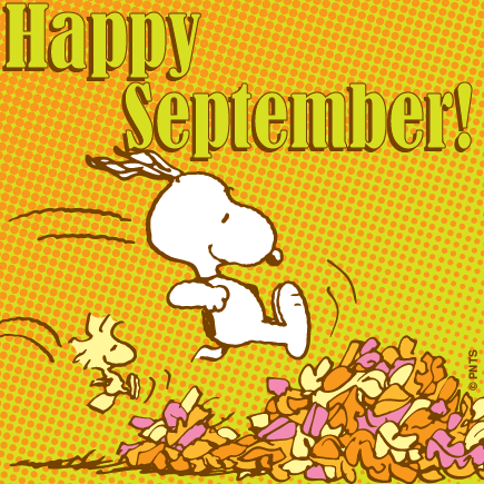 snoopy thegang peanutsgang. September clipart peanuts