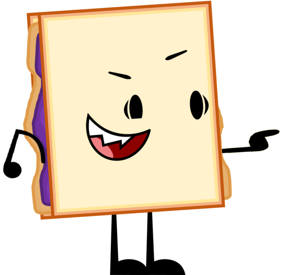Image and pose png. Sandwich clipart peanut butter jelly