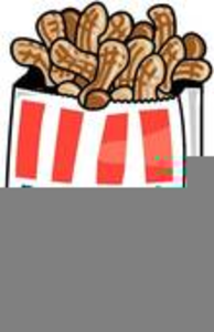 Peanuts clipart. Bag of free images
