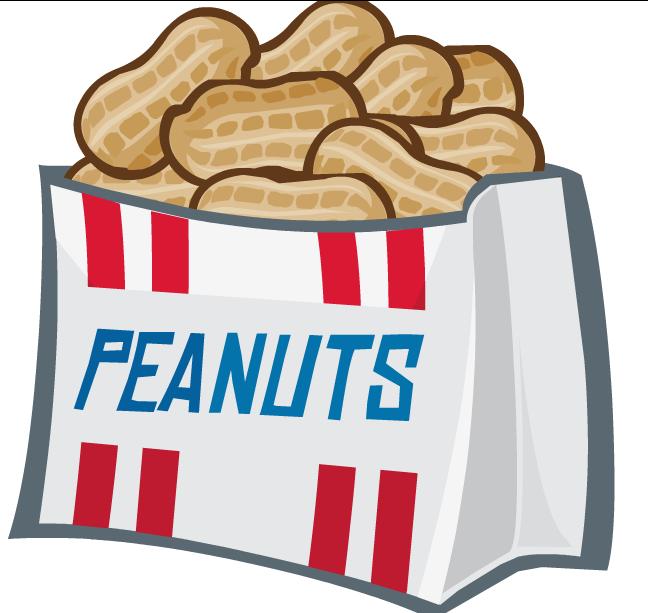 Of clip art free. Peanuts clipart bag