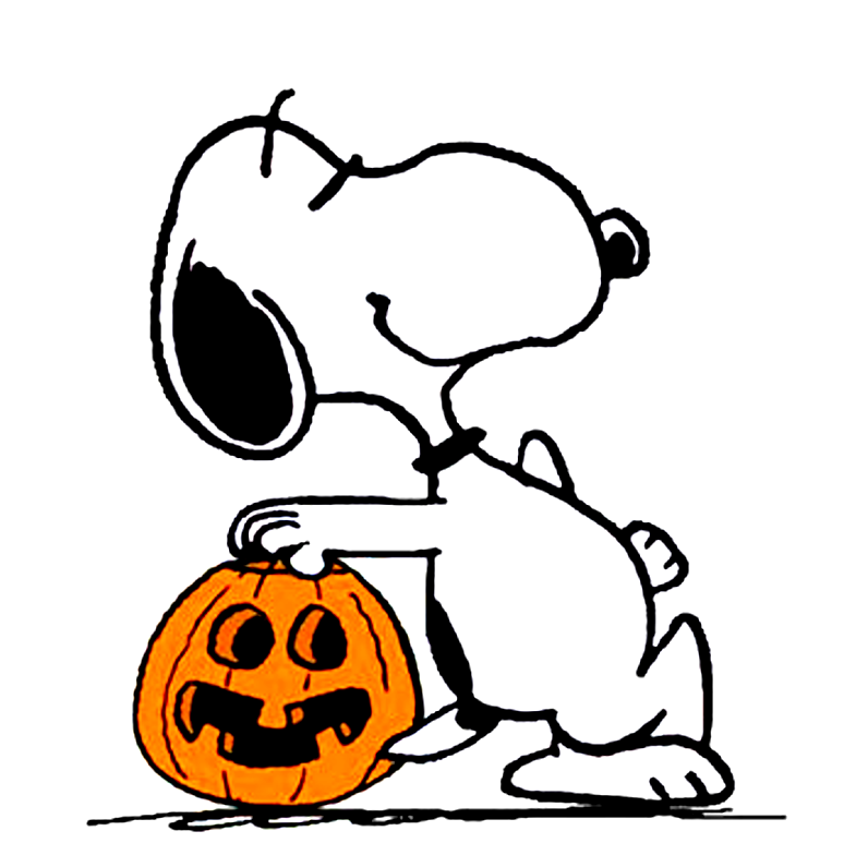 Peanuts clipart halloween. Snoopy alternative design pumpking
