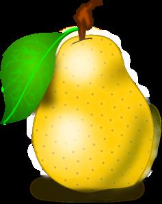 Pear clipart. Clip art by vansc