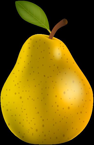 Transparent png clip art. Pear clipart