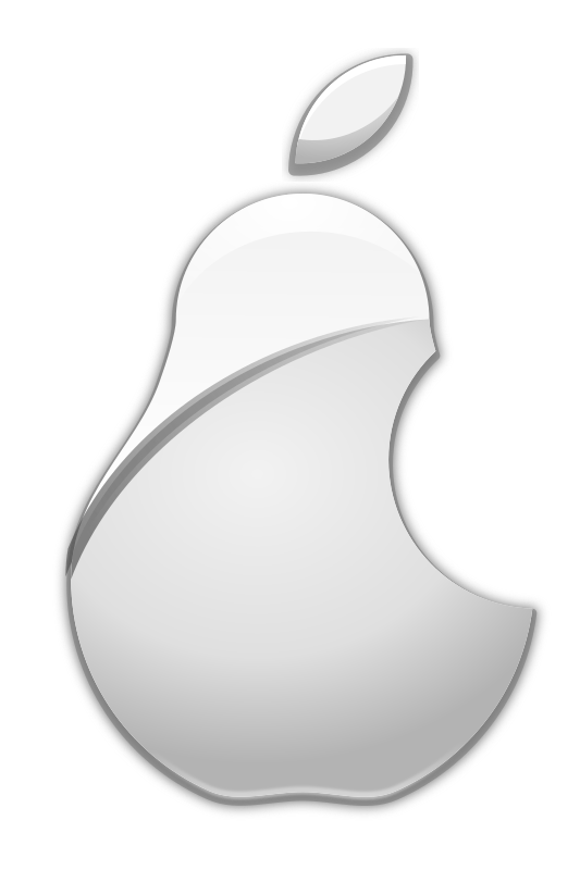 Logo medium image png. Pear clipart apple pear