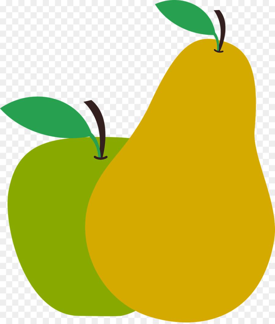 Pear clipart apple pear. Leaf fruit food transparent