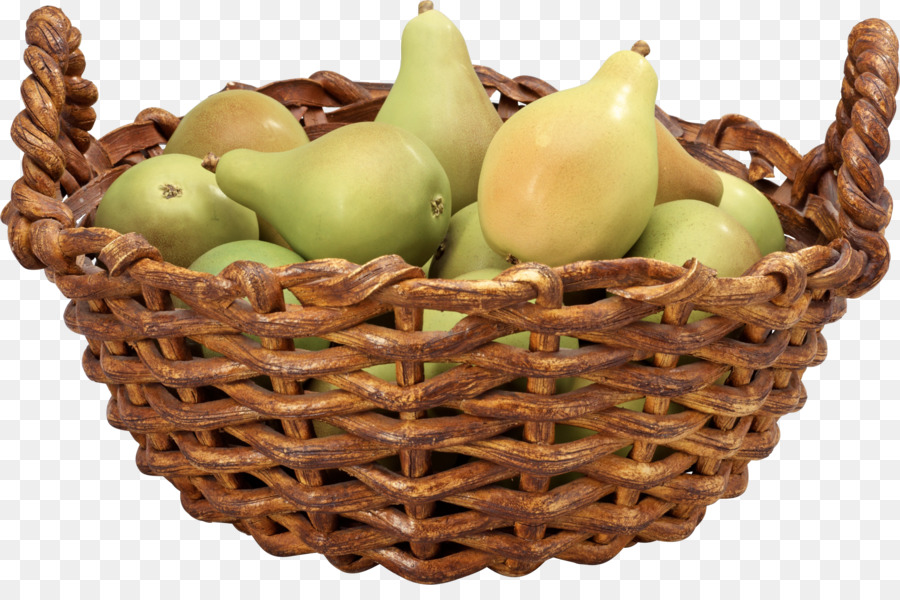 Gift cartoon png download. Pear clipart basket