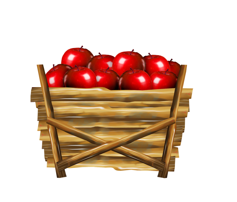 Pear clipart basket. Apple clip art of
