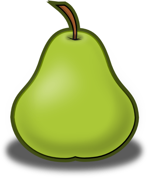 Cliparts zone . Pear clipart different kind fruit