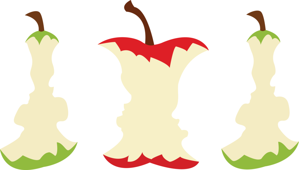 Apple faces by jendrawsit. Pear clipart drawn
