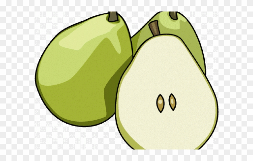 Pear clipart fruit seed. Png download