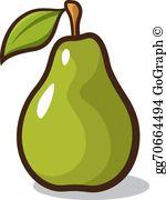 Clip art royalty free. Pear clipart green pear