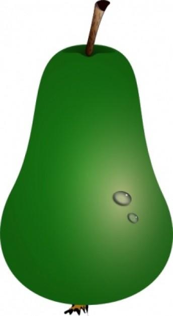Pear clipart green pear. Clip art panda free