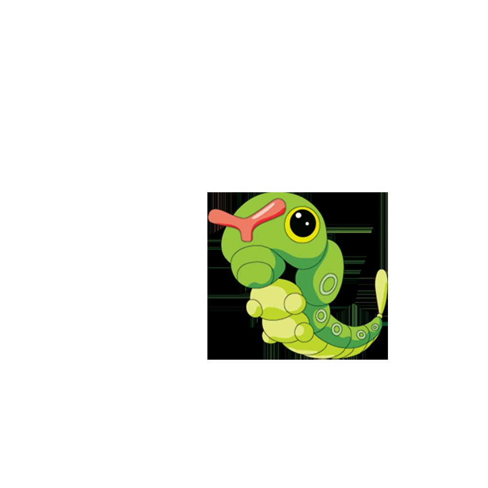 Pear clipart hungry caterpillar. Pokxe mon yellow stadium
