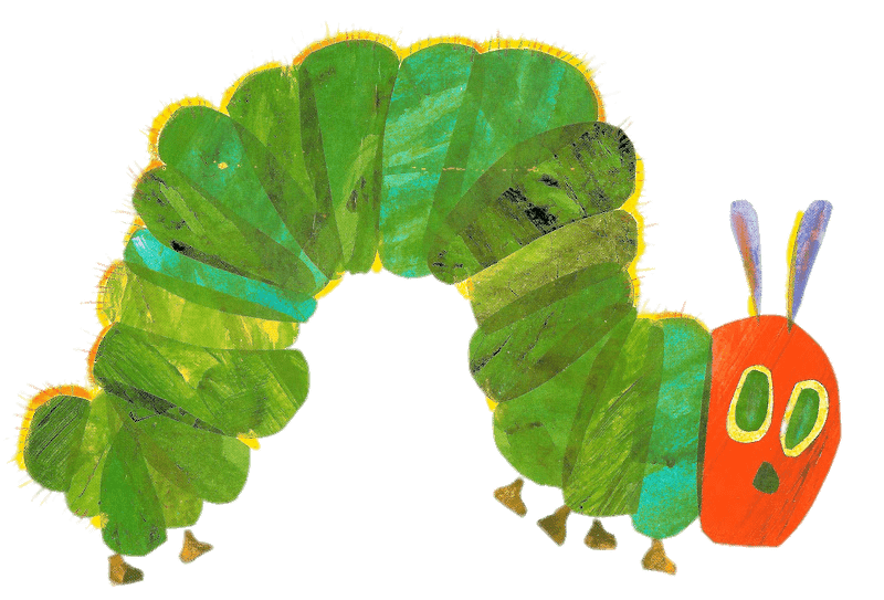 Pear clipart hungry caterpillar. The very butterfly clip