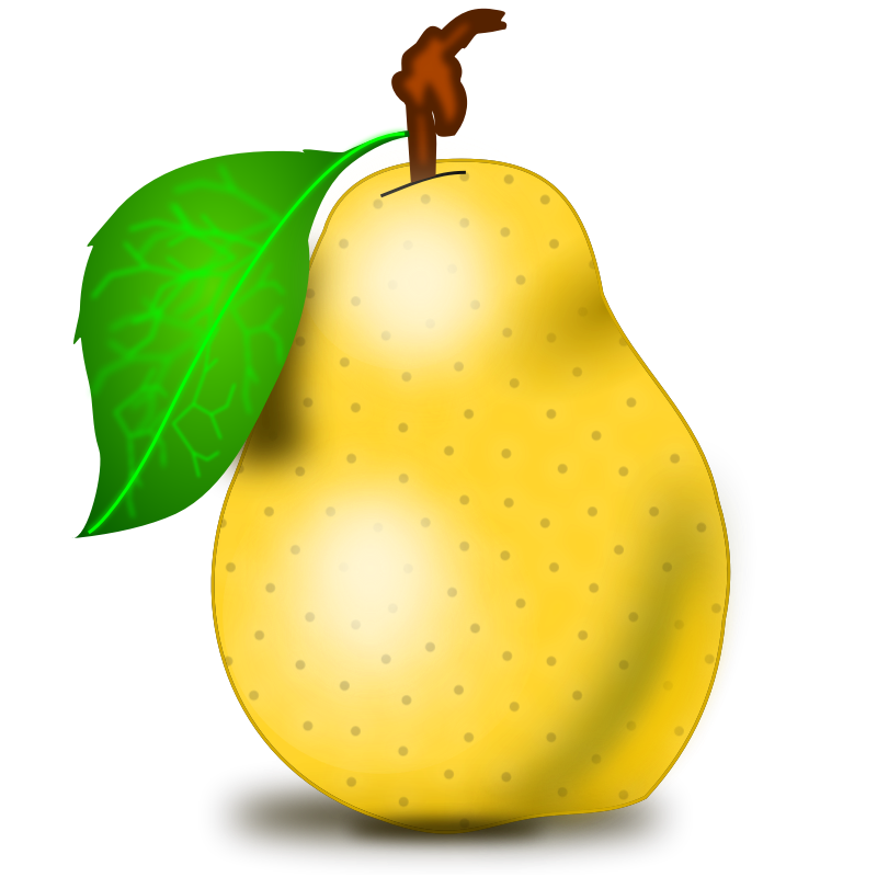 Free pictures download clip. Pear clipart jambu