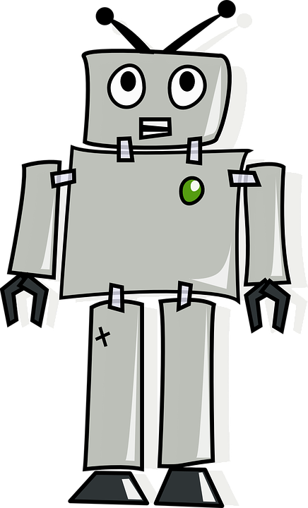 Free photo robot artificial. Pear clipart lukisan