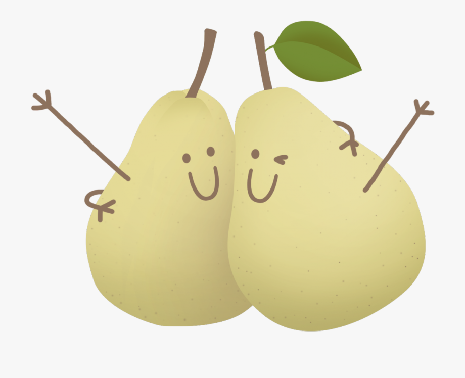 Asian free cliparts . Pear clipart pair pear