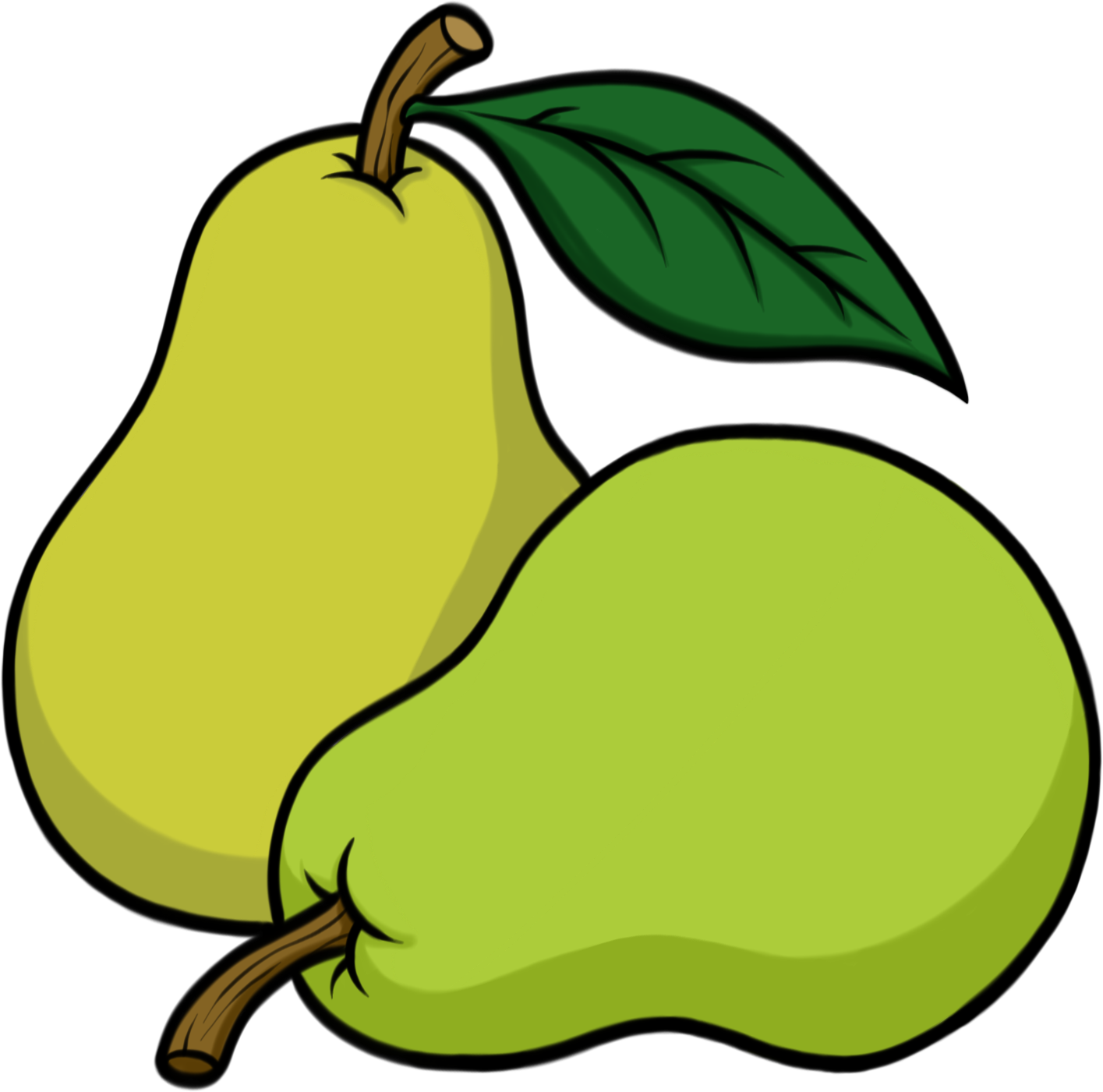Image result for drawing. Pear clipart pear shape
