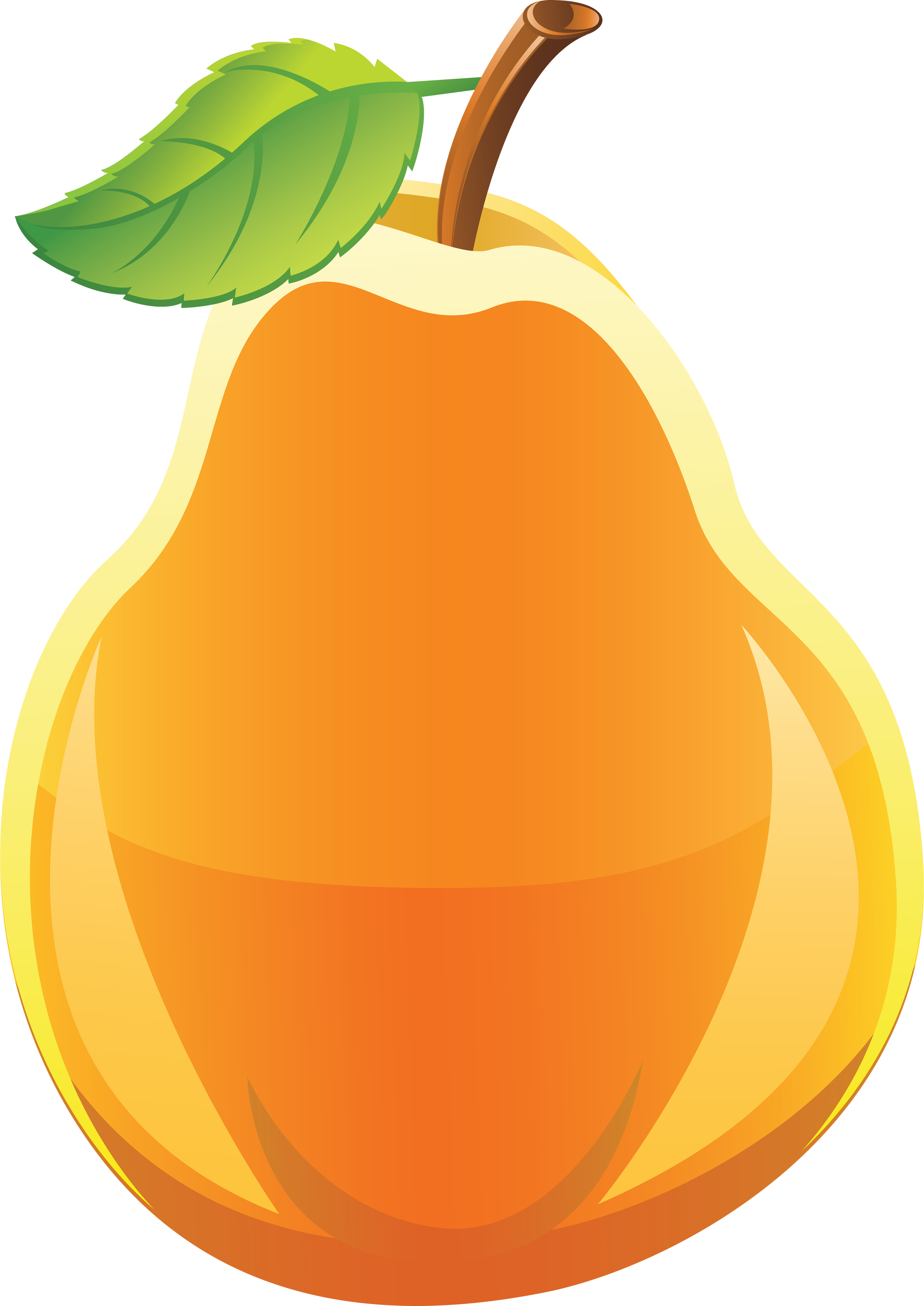 Pear clipart pear shape.  collection of png