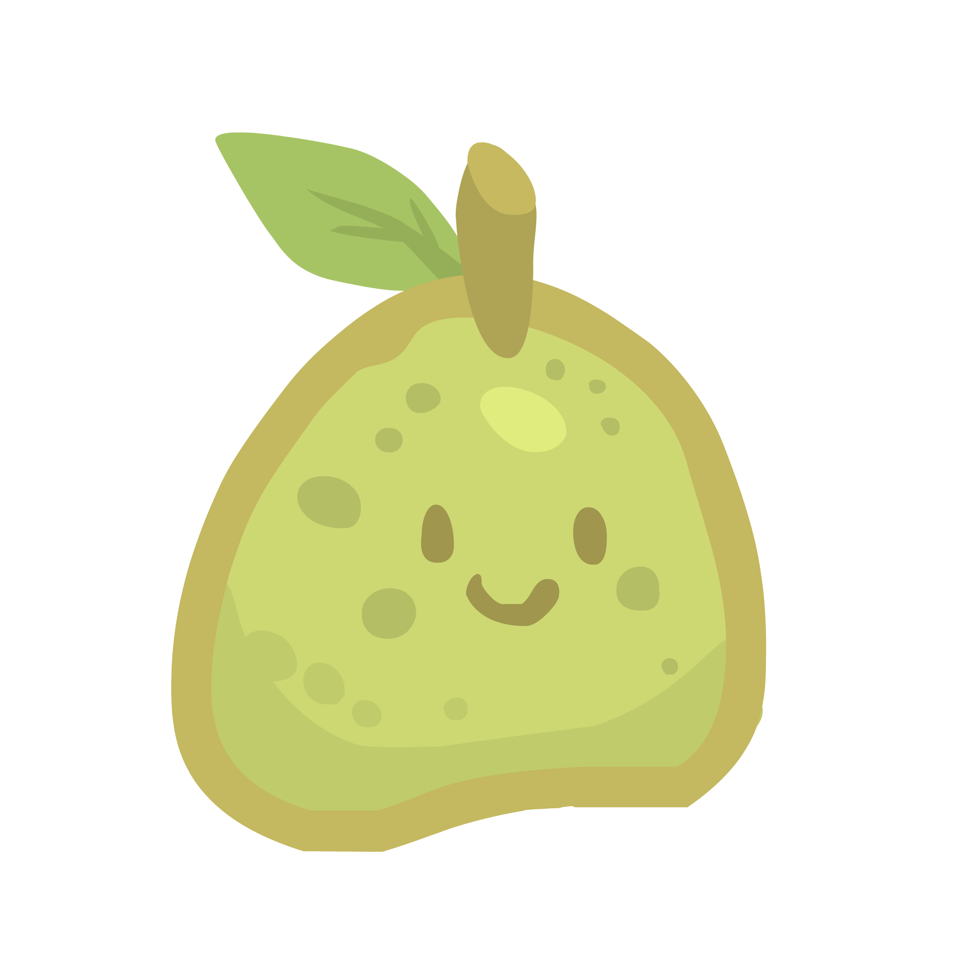 Pear clipart pear slice. Fruit this and that