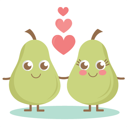 Pin on free planner. Pear clipart perfect pair