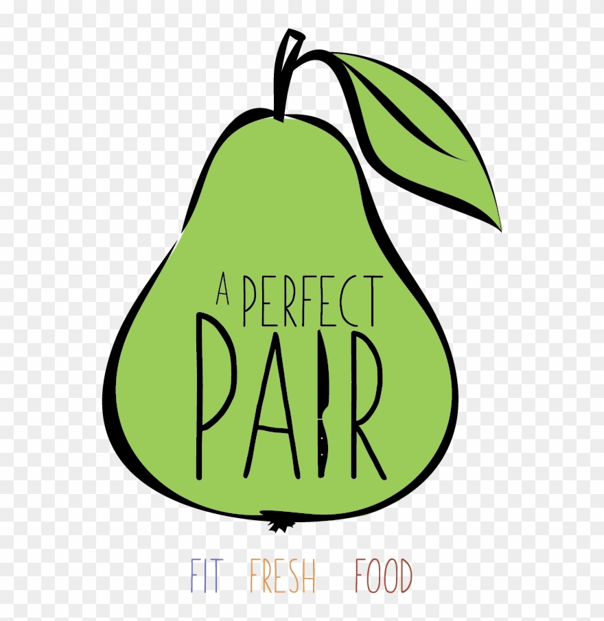 Pear clipart perfect pair. A meals