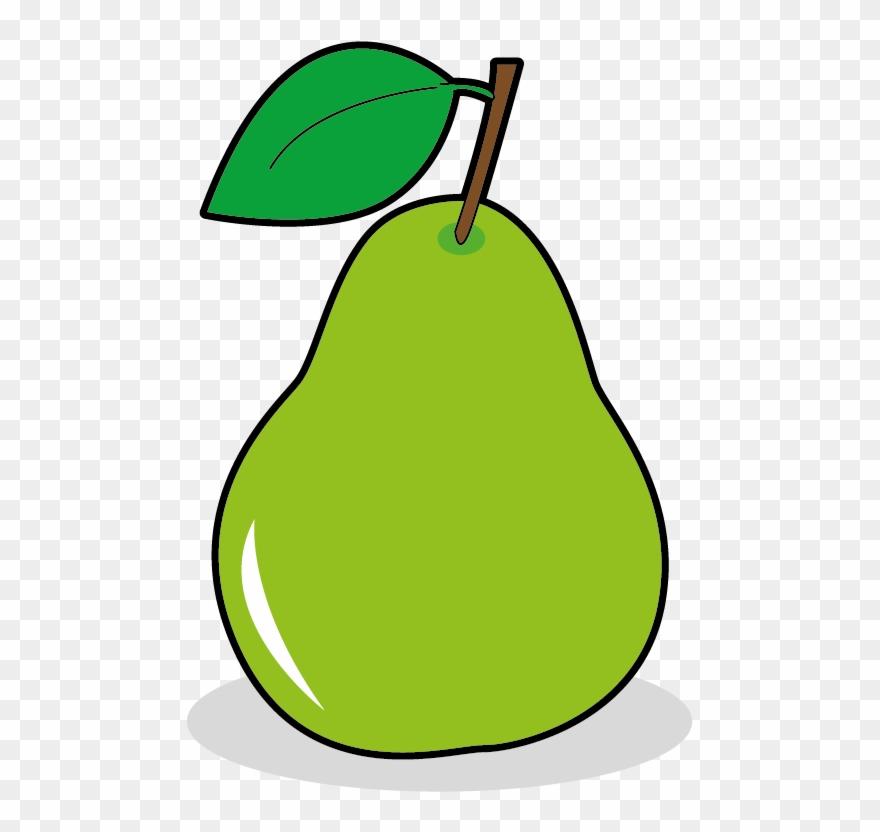 Pear clipart poire. Pinclipart