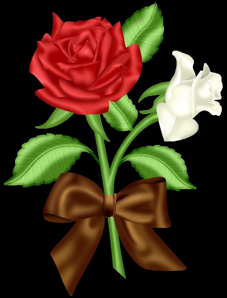Blue flower clip art. Pear clipart rose