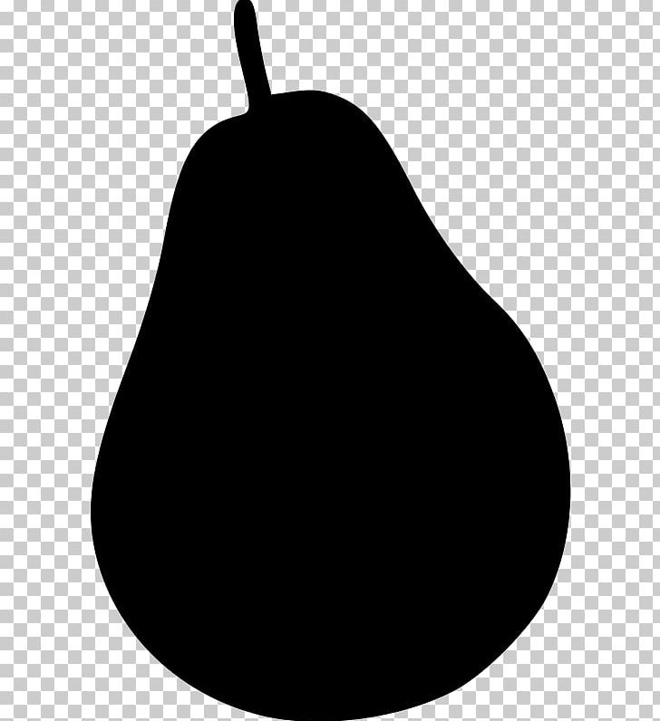 Black worcester png . Pear clipart silhouette