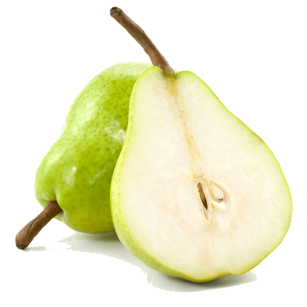 Pear clipart single fruit. Transparent png stickpng