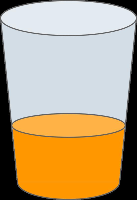 Oranje juice glass brekfast. Pear clipart svg