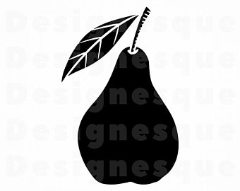 Pear clipart svg. Etsy