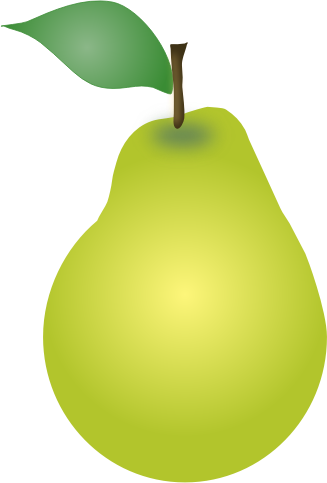 Download free png dlpng. Pear clipart svg