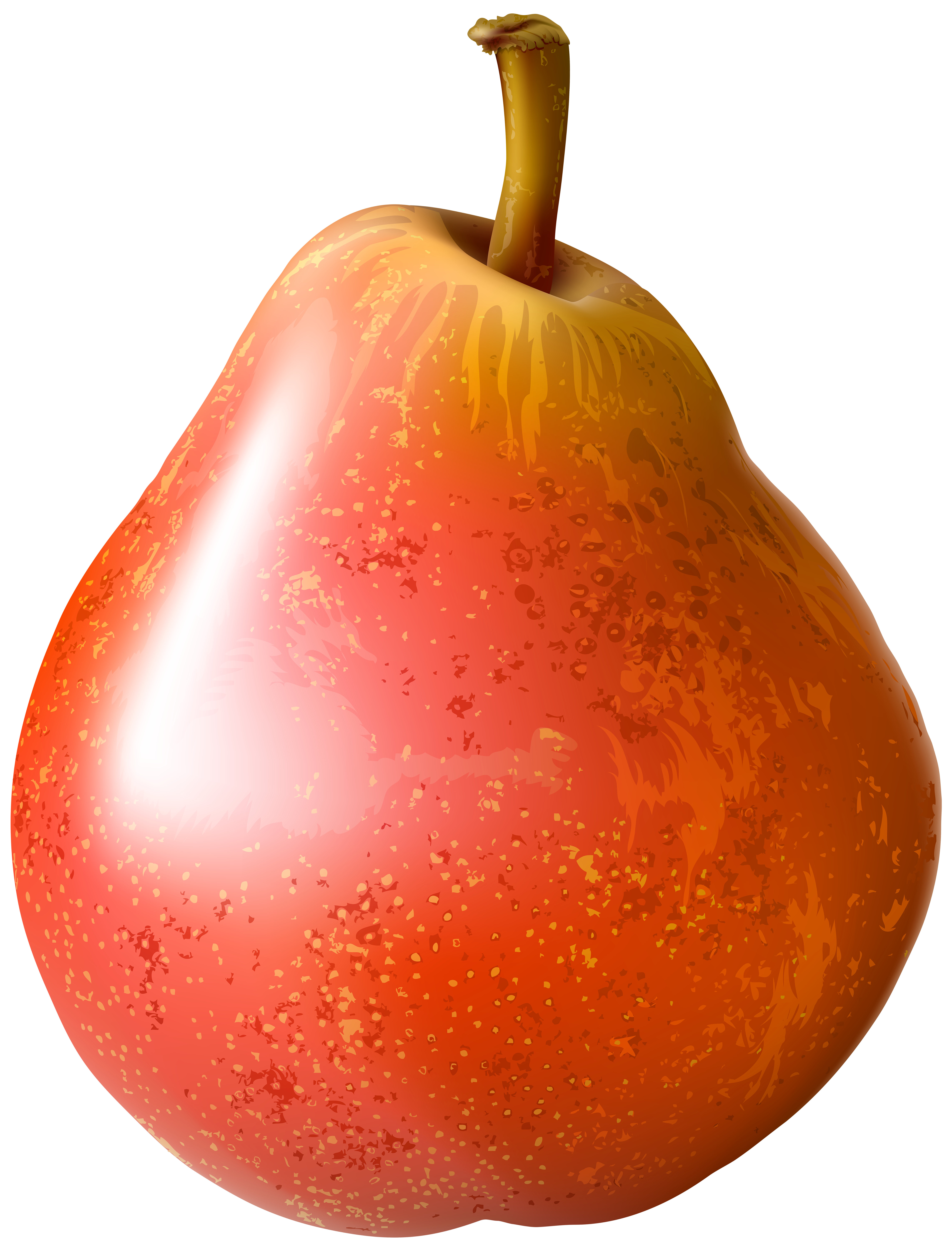 Red png clip art. Pear clipart transparent background