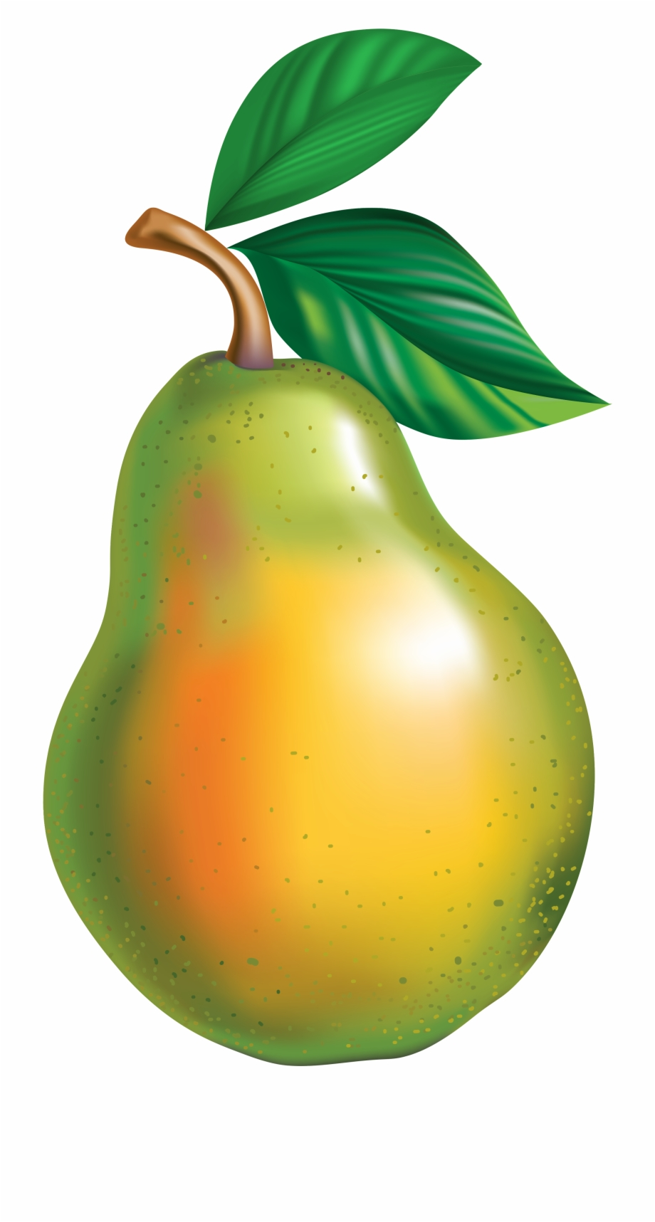 Animation . Pear clipart transparent background