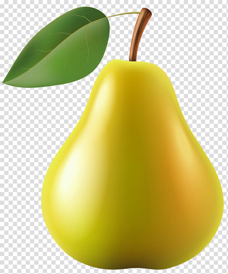 Pear clipart yellow pear. Fruit transparent background png