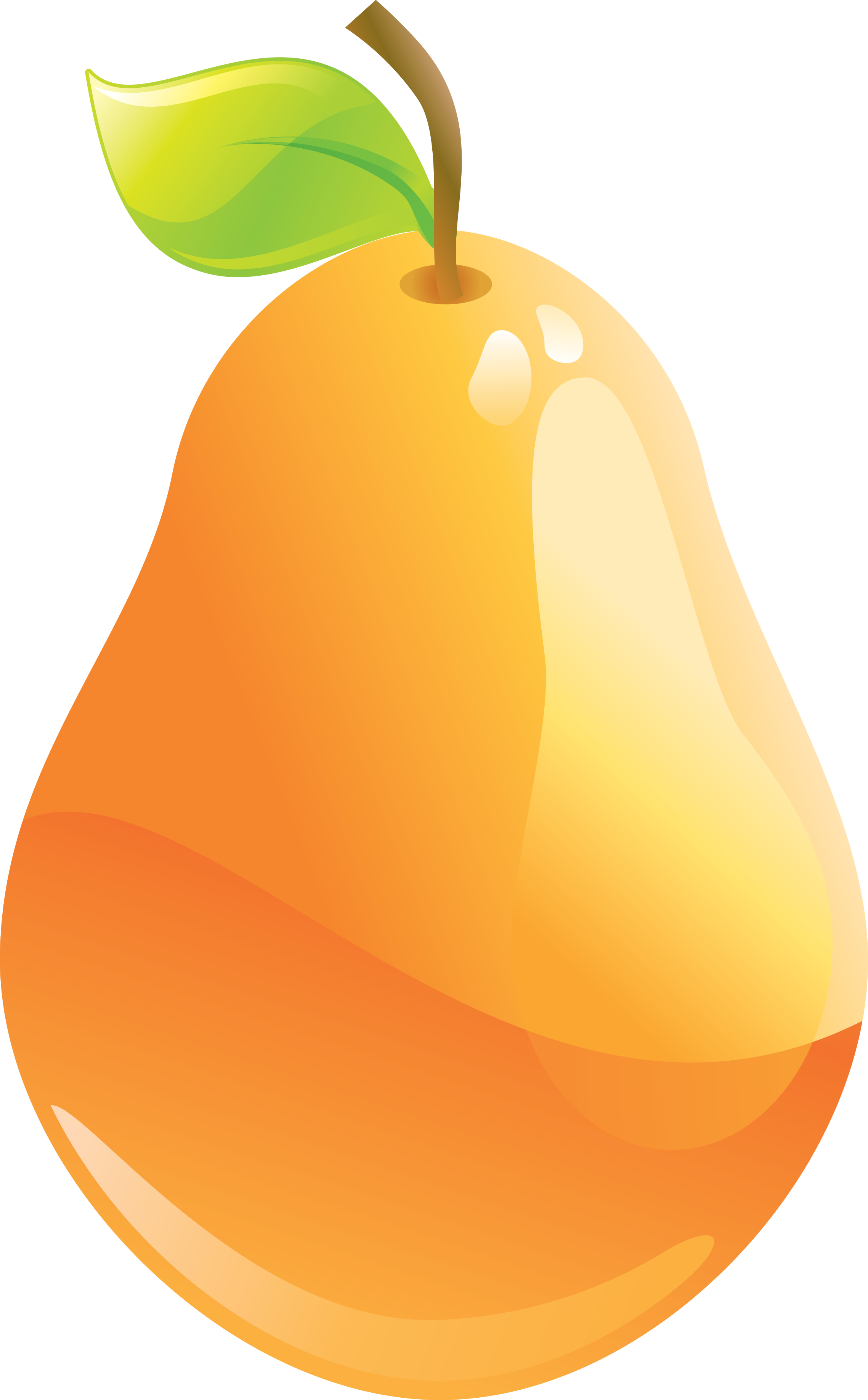Pin by next on. Pear clipart yellow pear