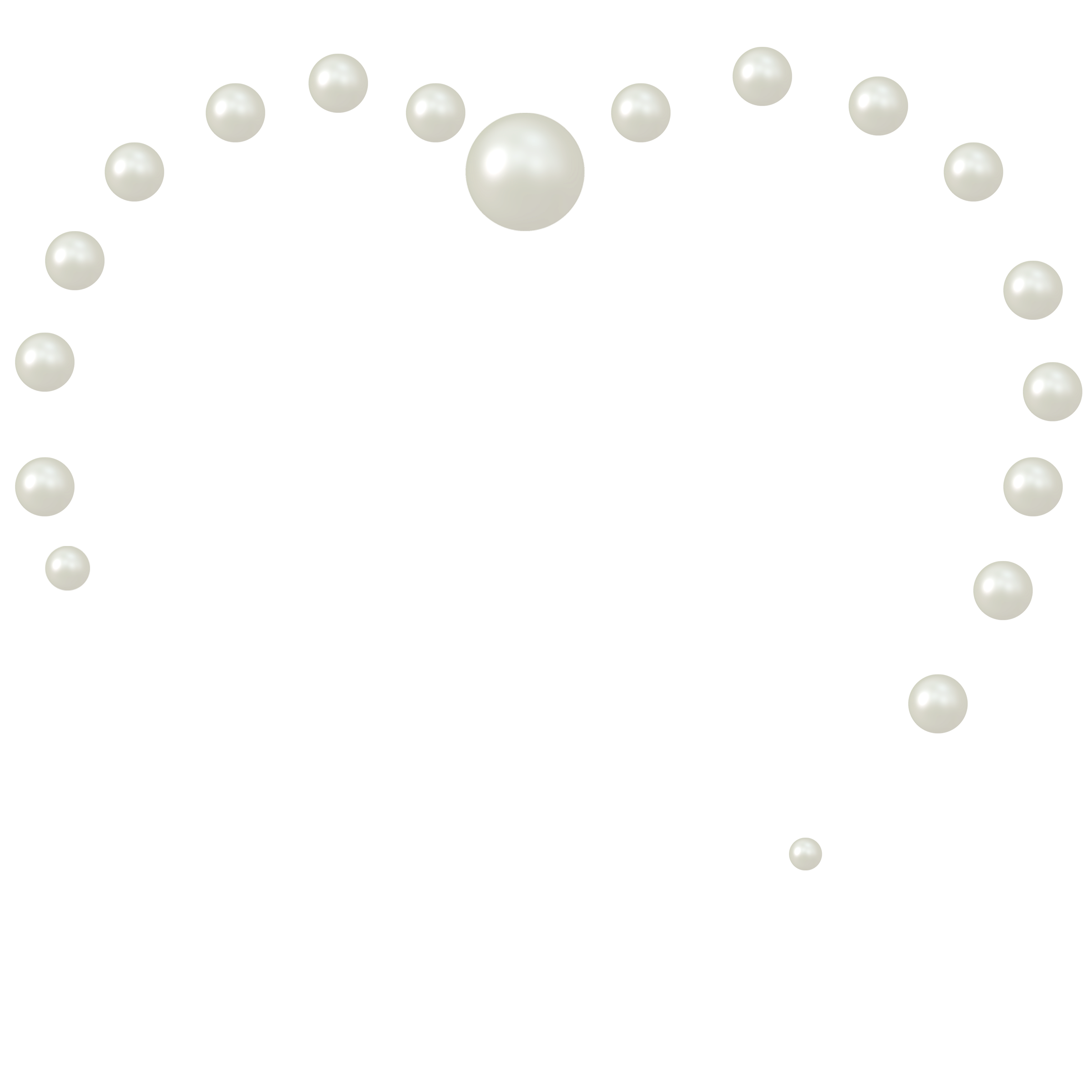 pearls clipart huge. Pearl border png